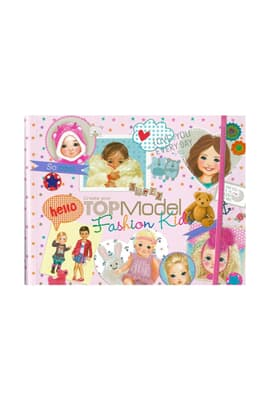 Kids Fashion Boyama Kitabi Dk07981 Kitabina Bak Top Model