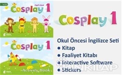 Cosplay Starter Okul Oncesi Ingilizce Egitim Kitabina Bak Basak